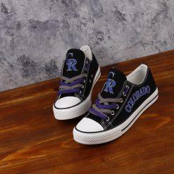 Colorado Rockies Limited Low Top Canvas Sneakers