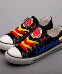 Columbia National Team Low Top Canvas Sneakers
