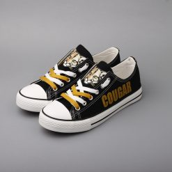 Cougar Pride Limited High School Low Top Canvas Sneakers