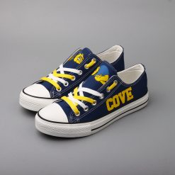 Cove Bulldawgs Limited High School Students Low Top Canvas Sneakers