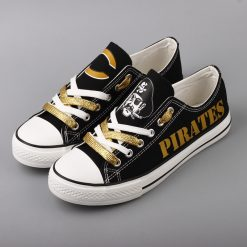Crawford Pirates Limited High School Students Low Top Canvas Sneakers