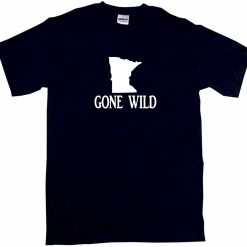Creative Short Sleeve Minnesota Gone Wild s Tee Shirt Short Crew Neck T Shirts Men