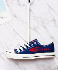 Custom KAWASAKI Fans Low Top Canvas Sneakers