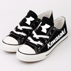 Custom KAWASAKI Fans Low Top Canvas Shoes Sport