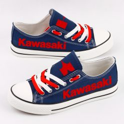 Custom KAWASAKI Limited Fans Low Top Canvas Shoes Sport