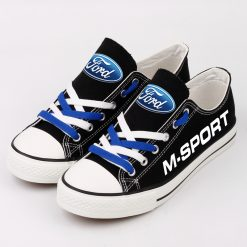 Custom M-SPORT FORD WRT Fans Low Top Canvas Sneakers