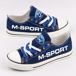 Custom M-SPORT FORD WRT Fans Low Top Canvas Shoes Sport