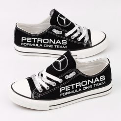 Custom Mercedes AMG Petronas Motorsport Fans Low Top Canvas Shoes Sport