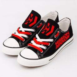 Custom Scuderia Ferrari Mission Winnow Fans Low Top Canvas Shoes Sport