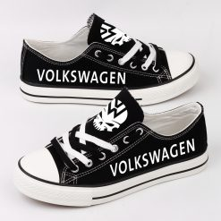 Custom VOLKSWAGEN MOTORSPORT Fans Low Top Canvas Shoes Sport
