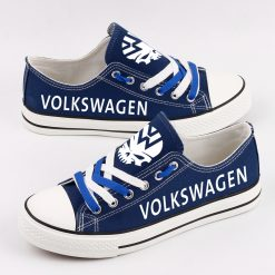Custom VOLKSWAGEN MOTORSPORT Fans Low Top Canvas Sneakers