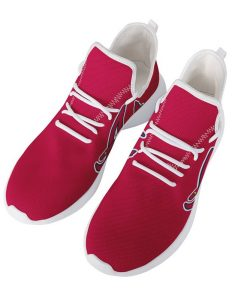 Custom Yeezy Running Shoes For Atlanta Braves Fans