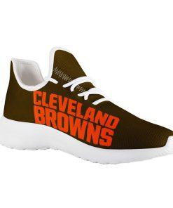 Custom Yeezy Running Shoes For Men Women Cleveland Browns
