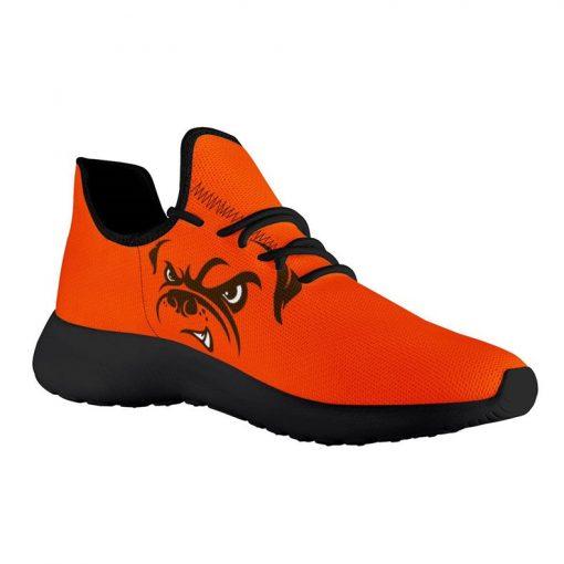 Custom Yeezy Running Shoes For Men Women Cleveland Browns Fans