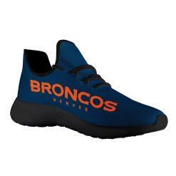 Custom Yeezy Running Shoes For Men Women Denver Broncos
