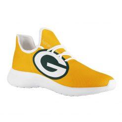 Custom Yeezy Running Shoes For Men Women Green Bay Packers