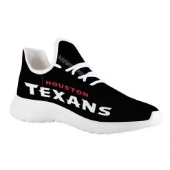 Custom Yeezy Running Shoes For Men Women Houston Texans