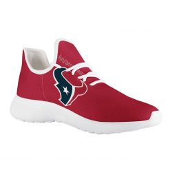 Custom Yeezy Running Shoes For Houston Texans Fans