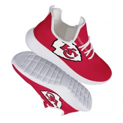 Custom Yeezy Running Shoes For Men Women Kansas City Chiefs