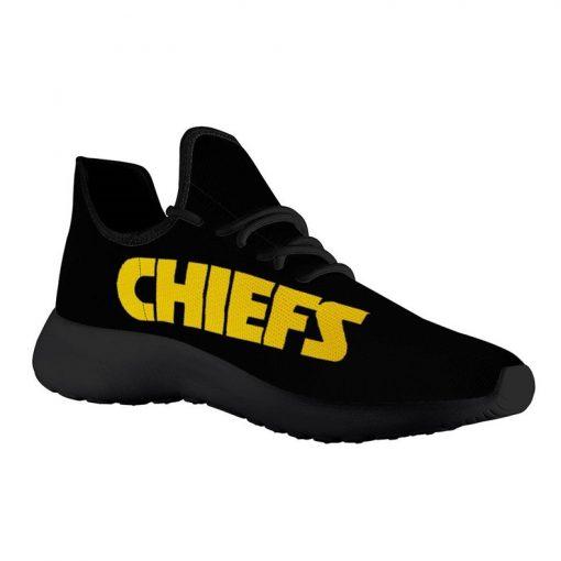 Custom Yeezy Running Shoes Kansas City Chiefs Fans