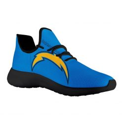 Custom Yeezy Running Shoes For Men Women Los Angeles Chargers