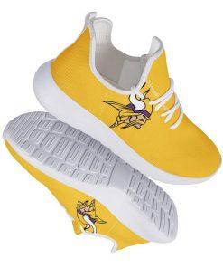 Custom Yeezy Running Shoes For Unisex Minnesota Vikings