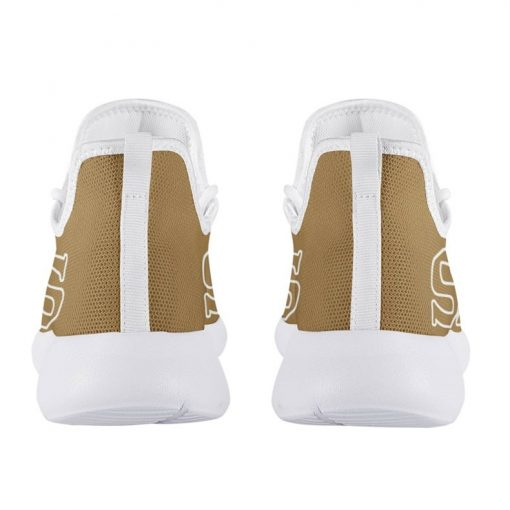 Custom Yeezy Running Shoes For New Orleans Saints Fans