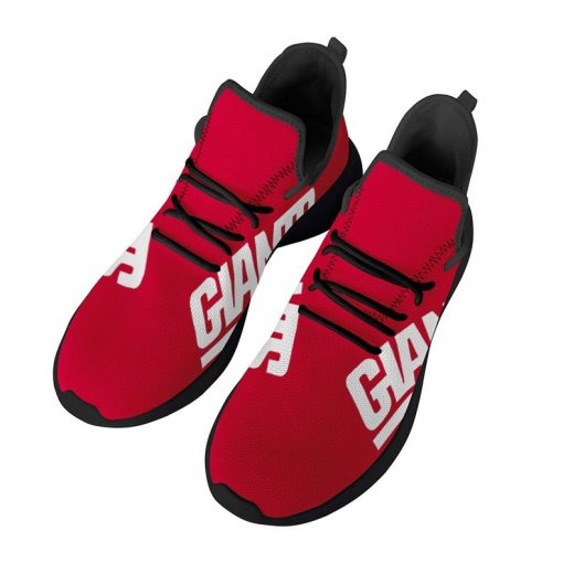 Custom Yeezy Running Shoes For Men Women New York Giants