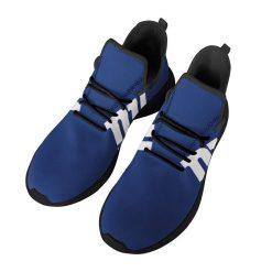 Custom Yeezy Running Shoes For New York Giants Fans