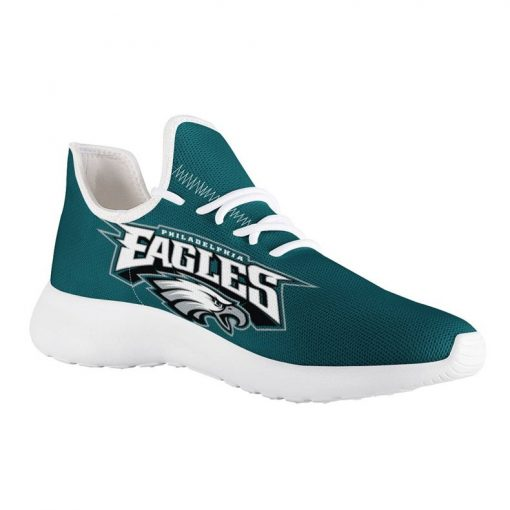 Custom Yeezy Running Shoes For Philadelphia Eagles Fans