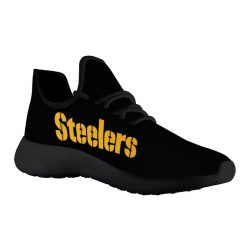 Custom Yeezy Running Shoes For Pittsburgh Steelers Fans