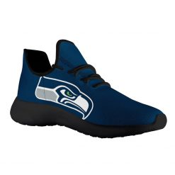 Custom Yeezy Running Shoes For Men Women Seattle Seahawks