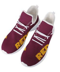Custom Yeezy Running Shoes For Men Women Washington Redskins