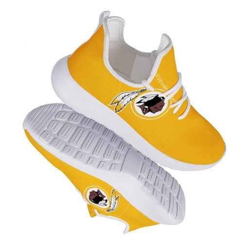Custom Yeezy Running Shoes Washington Redskins Fans