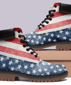 Customize America Flag Timboot Limited US Fans Winter