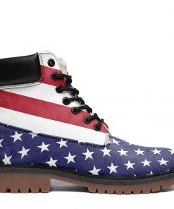 America Flag Winter Timboot