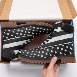 America Flag Limited Fans Winter Timboot