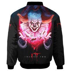 Customize IT Movie Fans Bomber Jacket Men Women