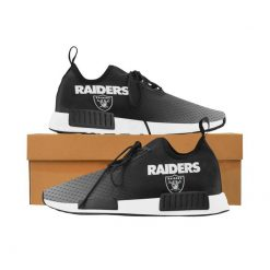 Customize Oakland Raiders Fans Women Men Sneakers