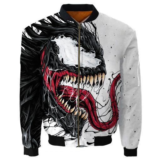 Customize Venom Bomber Jacket Men Women