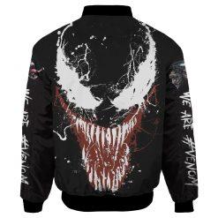 Customize Venom Fans Bomber Jacket Unisex
