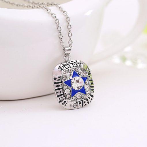 Dallas Cowboys Championship Necklace