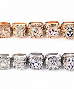 Dallas Cowboys Fans 1992/1993/1995/1977/1971 Championship Ring Set