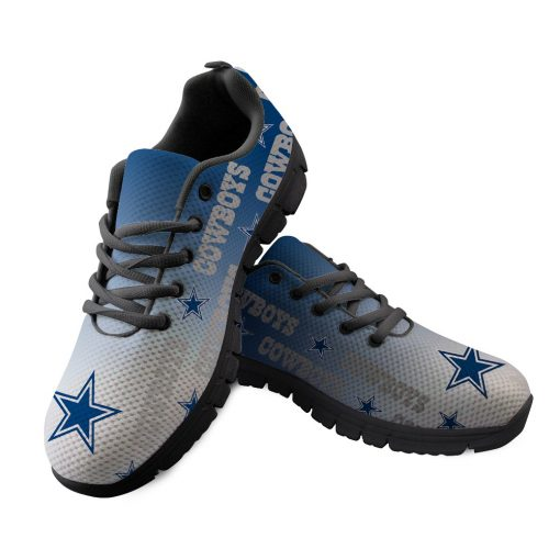 Dallas Cowboys Custom 3D Print Running Sneakers