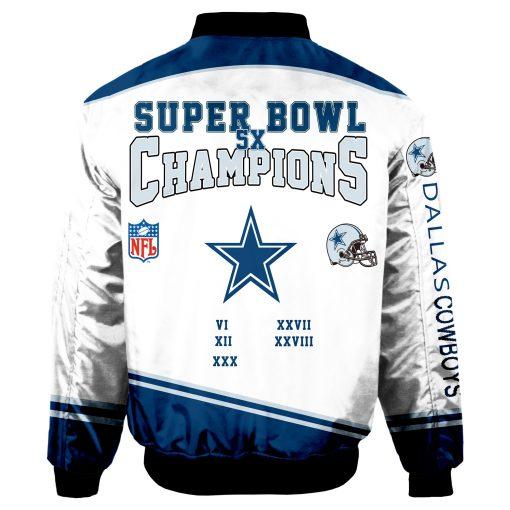 Dallas Cowboys Air Force One Flight Jacket
