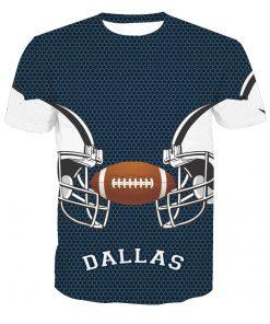 Dallas Cowboys Football Fans Casual T-Shirt