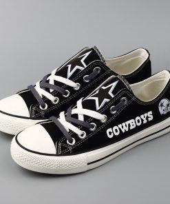 Dallas Cowboys Limited Low Top Canvas Sneakers T-D818H