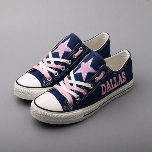 Dallas Cowboys Limited Low Top Canvas Sneakers T-DG29L