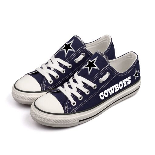 Dallas Cowboys Limited Low Top Canvas Sneakers T-DG54L