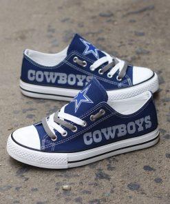 Dallas Cowboys Limited Low Top Canvas Sneakers T-DJ133L